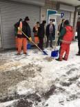 MEHMET YAŞAR - Van Büyükşehir Belediyesinden Kar Seferberliği