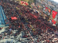 HAKKARİ ÇUKURCA - Yurdun Dört Bir Yanında 'Teröre Lanet' Yürüyüşleri