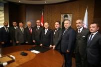 GENÇ GİRİŞİMCİLER - ATO Yönetiminden Gençlik Ve Spor Bakanı'na Ziyaret