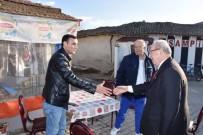 KADİR ALBAYRAK - Başkan Mahalle Mahalle Gezip, Vatandaşların Sorunlarını Dinledi