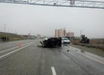 Batman'da Trafik Kazası Açıklaması 8 Yaralı