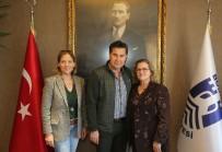 EĞLENCE MERKEZİ - Bodrum Campus Yetkililerinden Başkan Kocadon'a Ziyaret