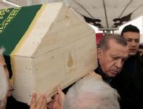 CENAZE TÖRENİ  - Cenaze törenine Erdoğan da katıldı