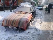 Eksi 27 Dereceyi Gösteren Ağrı Buz Tuttu