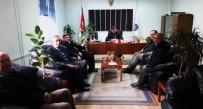 ESKIGEDIZ - Gediz Polisine Taziye Ziyareti