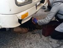 HAFRİYAT KAMYONU - Genç kadın hafriyat kamyonunun altında kaldı