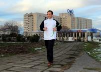 DOPING - İşine Koşarak Gidip Gelen Memur Her Gün 33 Kilometre Koşuyor