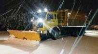 ÜST GEÇİT - Karla Mücadelede 161 Ton Tuz Kullanıldı