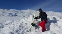 EĞLENCE MERKEZİ - Kayak Merkezinde Piknik Keyfi