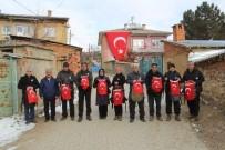 POLİS TEŞKİLATI - Konya'da, Doğa Tutkunları Şehit Polis Oğuzhan Duyar İçin Dağa Tırmandı