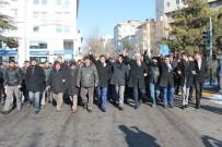 EMRAH ÖZDEMİR - Niğde'de Şehitler İçin Yürüyüş Düzenlendi