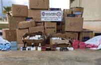 Nusaybin'de Kaçak Kozmetik Malzemeleri Ele Geçirildi