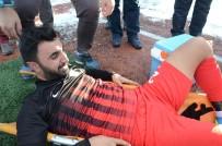 BEYDAĞı - Sakatlanan Futbolcu Gözyaşlarına Boğuldu