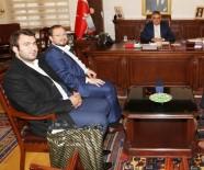 SALİH TURHAN - AGD Genel Başkanı Turhan Vali Pekmez'i Ziyaret Etti