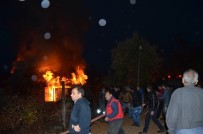 KAMU ÇALIŞANI - Aladağ Halkını Yangın Korkusu Sardı