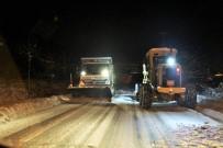 METEOROLOJI GENEL MÜDÜRLÜĞÜ - Başiskele Belediyesi Karla Mücadele İçin 123 Personel 34 Araçla Hazır