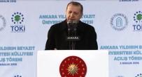 YıLDıRıM BEYAZıT - 'Başkan Erdoğan' Sloganlarına Cevap Verdi