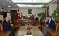 MUSTAFA TALHA GÖNÜLLÜ - Başsavcı Karabacak, Rektör Gönüllü'yü Ziyaret Etti.