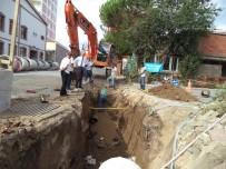 YAĞMUR SUYU - Biga Belediyesinden 'Kanalizasyon Çöplük Değildir' Uyarısı
