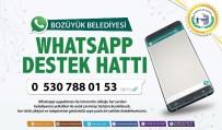 BOZÜYÜK BELEDİYESİ - Bozüyük Belediyesi 'Whatsapp Destek Hattı' Devrede