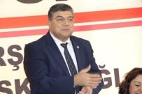 YAŞAR SEYMAN - CHP Genel Sekreteri Kamil Oktay Sındır Kırşehir'i Ziyaret Etti