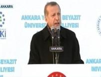 YıLDıRıM BEYAZıT - Cumhurbaşkanı Erdoğan'dan 'Başkan Erdoğan' tezahüratlarına yanıt