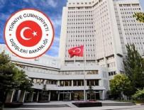 MILLI SAVUNMA BAKANı - Dışişleri Bakanlığı'ndan Kammenos'a tepki