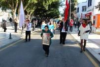 ÖĞRENCİLER - Engelliler Bando Eşliğinde Yürüyüp, Maharetlerini Sergiledi