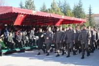 SAYGI DURUŞU - Eskişehir'de Kısa Dönem Erler Yemin Etti