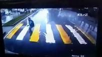 YAYA GEÇİDİ - Gence Çarpıp Kaçan Otomobili Otobüsün Kamerasından Buldular
