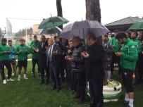 SIVASSPOR - Giresunspor'da 3 Puan Hasretini Dindirmek İçin Kurban Kesildi
