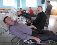 KALP KRİZİ - Hisarcık Kızılay Şubesi'nden Kan Bağışına Destek