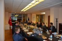 MECLIS BAŞKANı - İŞKUR, ÇTB Meclisine Konuk Oldu