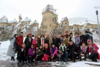 ÇİNLİ - Kapadokya'da Kartpostallık Kar Manzaraları