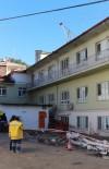 HASTANE - Kastamonu'da Hastanenin Çatısından Düşen İşçi Öldü