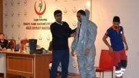 SAĞLIK ÇALIŞANLARI - Kilis'te Sağlık Personeline KBRN Eğitimi Verildi