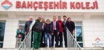 HALİL MUTLU - Küçük Dev Halil Mutlu, Bahçeşehir Okulları Öğrencileriyle Buluştu