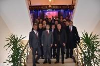 ÜLKÜ OCAKLARı - MHP Milletvekili Aydın'dan Çat Belediyesi'ne Ziyaret