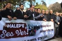 DERNEK BAŞKANI - Şanlıurfa'da STK'lar Halep'te Yaşanan İnsanlık Dramına Dikkat Çekti