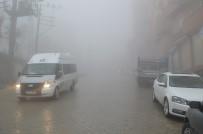 Şırnak'ta Sis Nedeniyle Görüş Mesafesi 5 Metreye Düştü