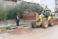 Soma Caddelerinde Hummalı Çalışma