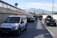 ANTALYASPOR - Takla Atan Araçtan Burnu Bile Kanamadan Çıktı