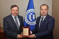 SOĞUK SAVAŞ - Türkmenistan İstanbul Başkonsolosu Uşak Üniversitesi'ni Ziyaret Etti