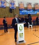TÜRK HALK MÜZİĞİ - Üsküdar'daÜnlü Futbolcularla Down Sendromlu Gençler Futbol Maçı Yaptı