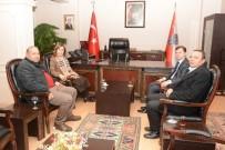 AK Parti Heyetinden Emniyet Müdürü Hüner'e Ziyaret