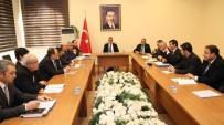 Aksaray'da Kış Önlemleri Ve Karla Mücadele Toplantısı Yapıldı
