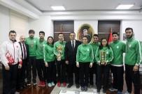 SPOR MERKEZİ - Başarılarıyla İzmir'in Adını Tüm Türkiye'ye Duyurdular