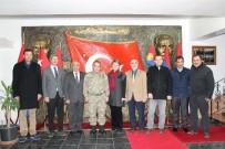 SERBEST MUHASEBECİ MALİ MÜŞAVİRLER ODASI - Bilecik TSO Ve STK Temsilcilerinden Tuğgeneral Halis Zafer Koç'a Taziye Ziyareti