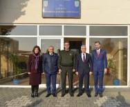 MUSTAFA BOZBEY - Bozbey'den Jandarma Komutanlığı'na Başsağlığı Ziyareti
