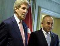 JOHN KERRY - Çavuşoğlu, Kerry ile telefonda görüştü